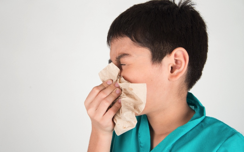 Most Effective Ways To Overcome Kids Allergy Following Ayurveda photo